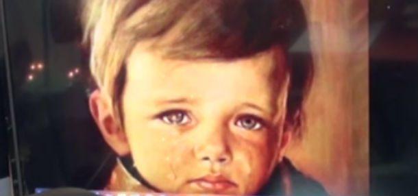 Картина «Плачущий мальчик»