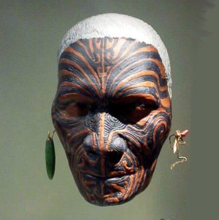 Проклятая маска воина маори