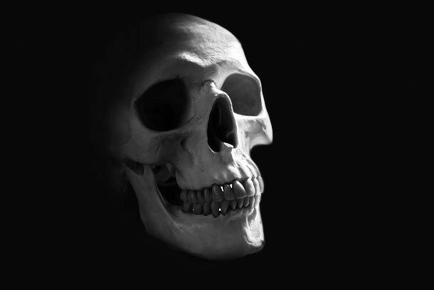 Вопящий череп Бёртон-Агнес-Холла