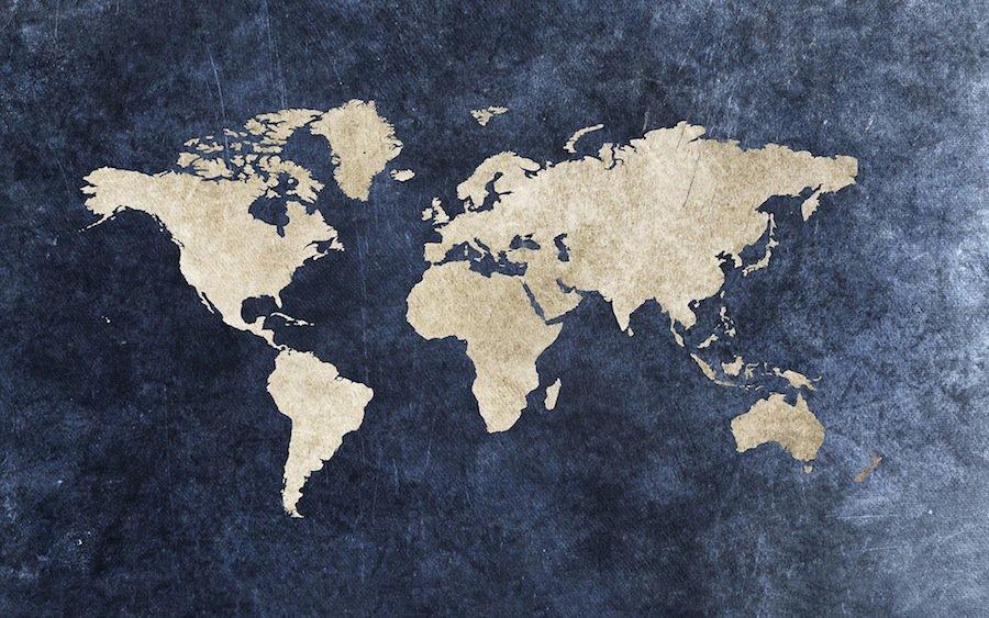 12 самых странных географических карт, которые мы когда-либо видели