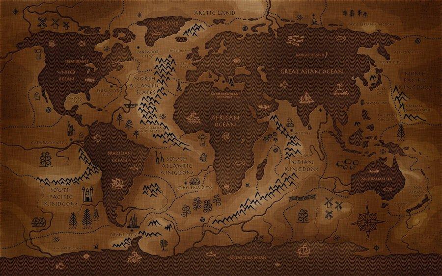 13 самых странных географических карт, которые мы когда-либо видели