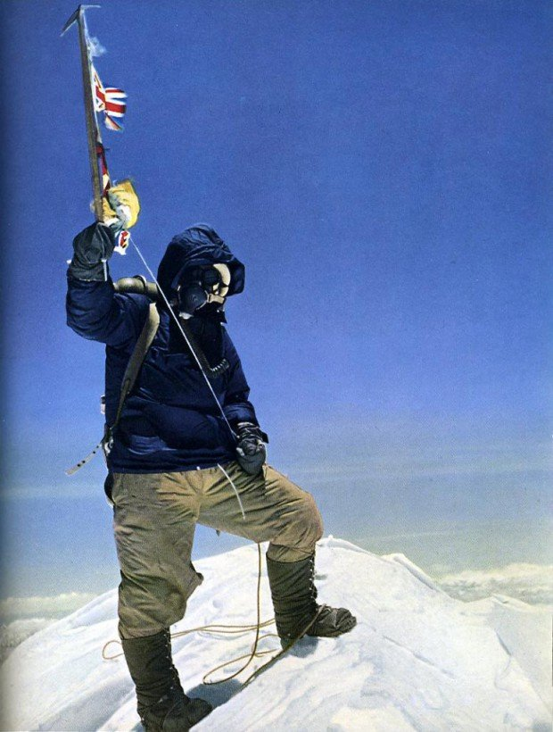 © Edmund Hillary/Royal Geographic Society