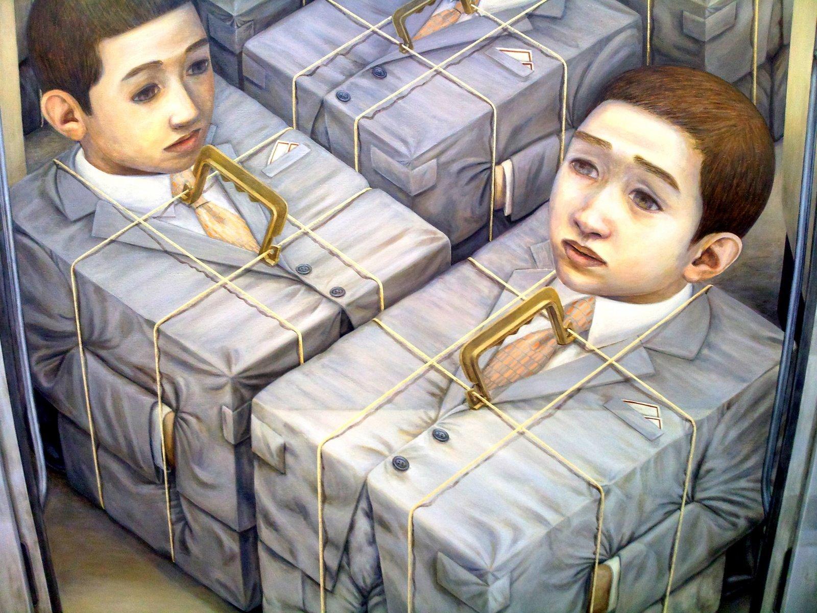 10 современных художников, пишущих странные и страшные картины