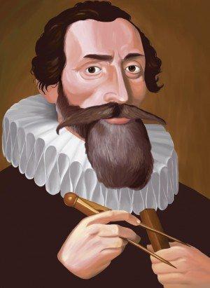 Иоганн Кеплер / ©gabrielherrera.deviantart.com