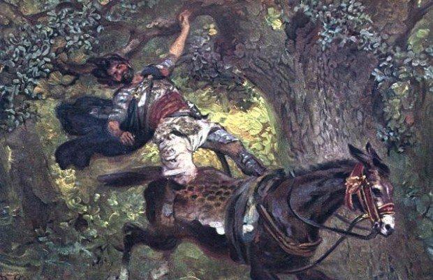 Смерть Авессалома