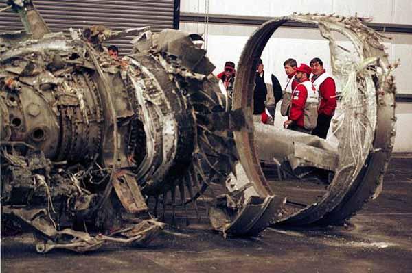 Разбитый Боинг-767 авиакомпании Egypt Air