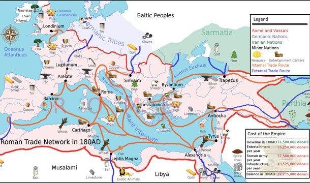 Торговая карта
