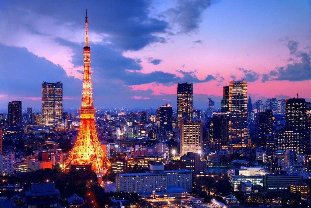 Токийская телебашня Tokyo Tower