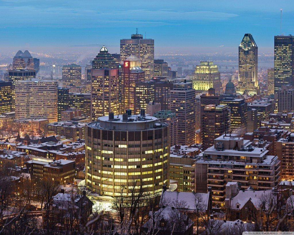 Ночной Монреаль