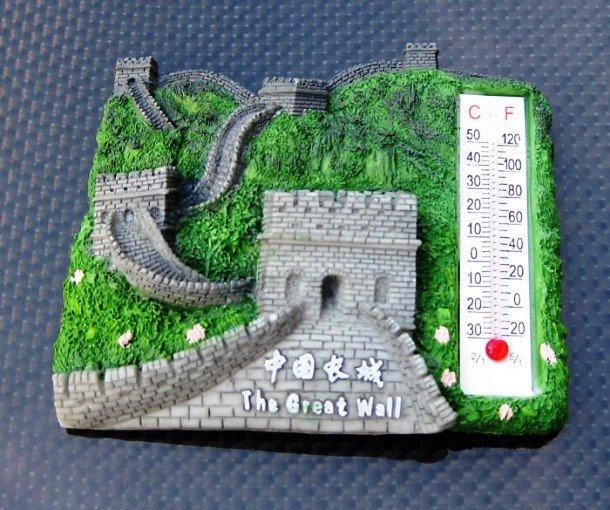 Термометр с Великой китайской стеной