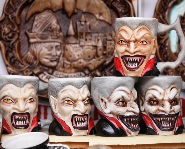 Чашка с Дракулой