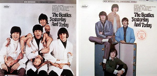 """Обложка альбома The Beatles """"Yesterday and Today"""""""