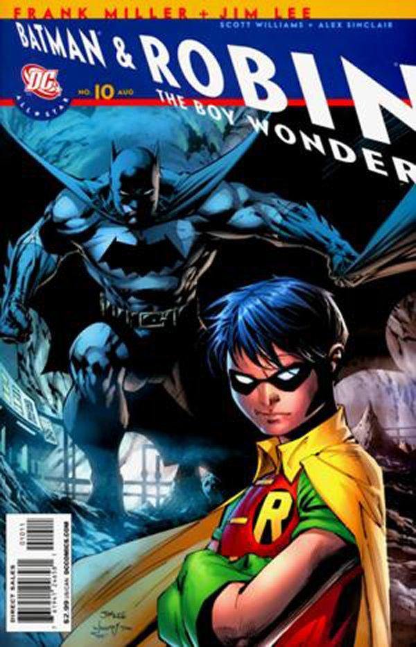 Обложка скандального выпуска комикса о Бэтмене и Робине