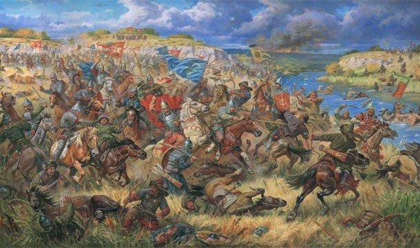 Картина о перско-монгольской войне