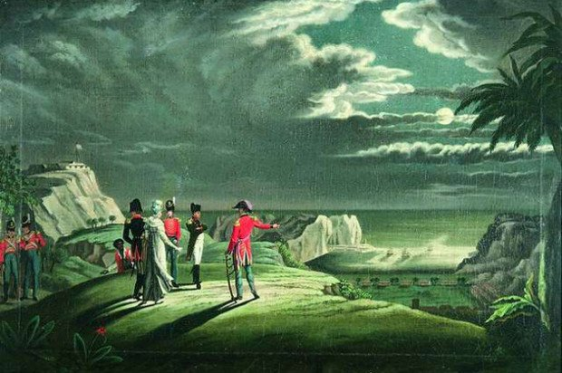 французы на острове Святой Елены