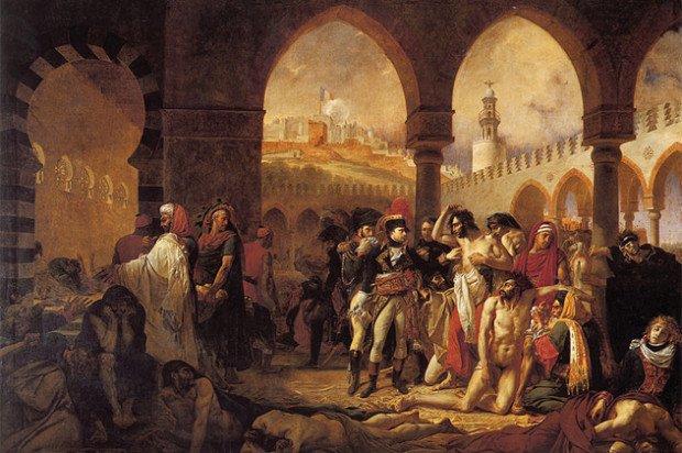 Картина Наполеон в городе