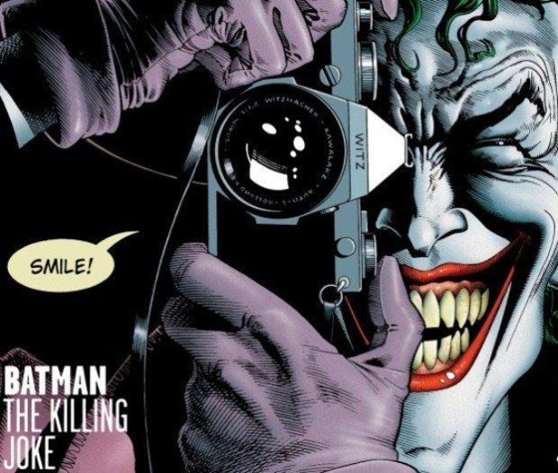 Джокер из комикса Batman: The Killing Joke