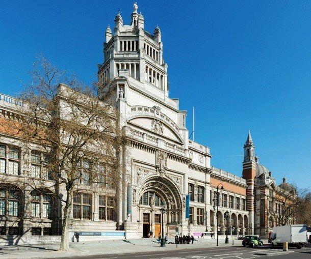 Здание музея Виктории и Альберта, Лондон