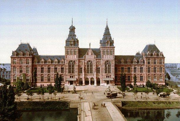 Здание музея Рейксмюзеим