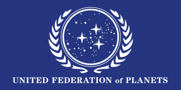 Логотип united federation of planets