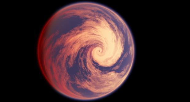 Ураган, вид из космоса