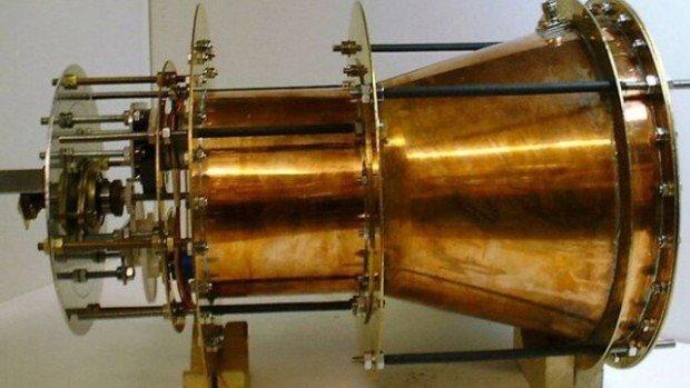 Двигатель, использующий микроволновое излучение