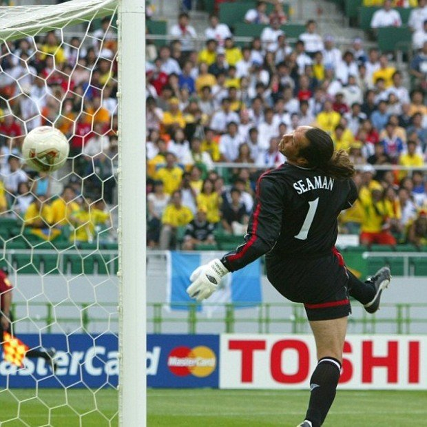Бразилия-Англия, ЧМ-2002 (1/4 финала)