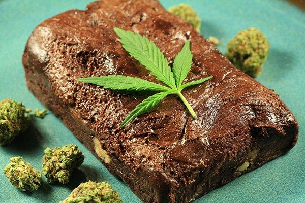 Шоколадное печенье с марихуаной