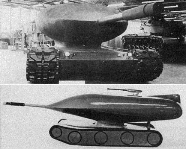 Атомный танк Chrysler TV-8 (США)
