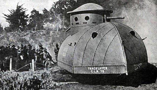 Гусеничная машина Tracklayer Best 75 (США)