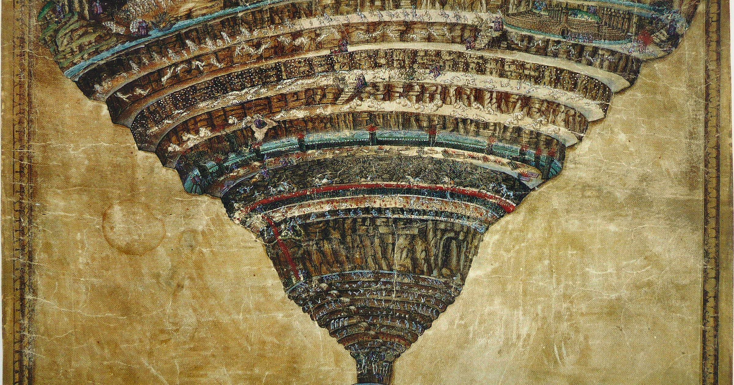 Real people sentenced to Dante's hell
