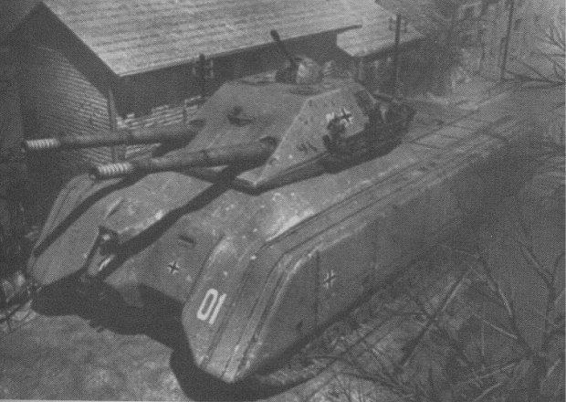 Landkreuzer P-1000 Ratte или «Крыса» (Германия)