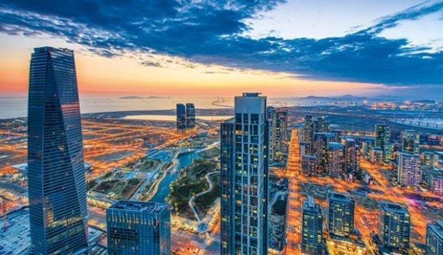 Международный деловой район Сонгдо, Южная Корея