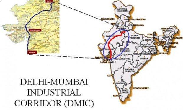 Промышленный коридор Дели-Мумбаи, Индия