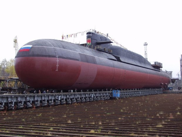 Атомная подводная лодка 'Екатеринбург'