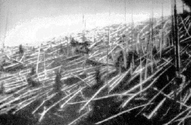 Фото с предполагаемого места падения Тунгусского метеорита