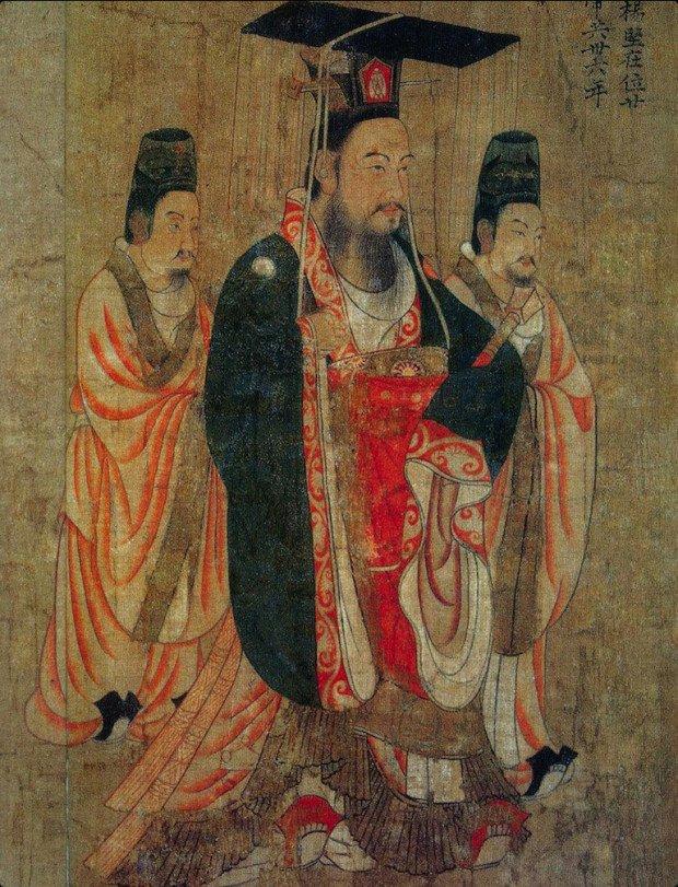 Изображение императора Суй Вэнь-ди