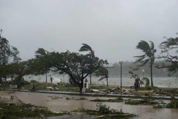Мощное торнадо