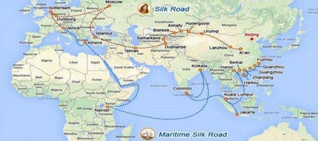 Новый Шелковый путь Китая