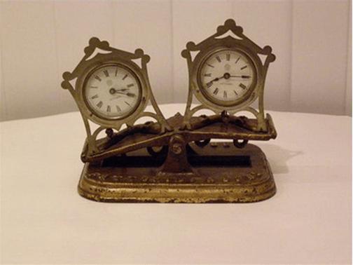 Первые шахматные часы