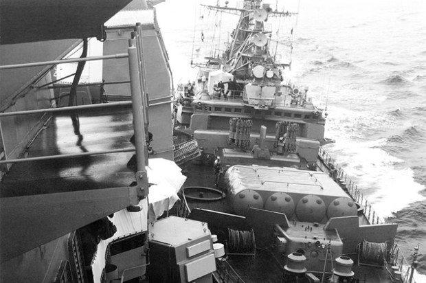Столкновение американских и советских кораблей в Чёрном море