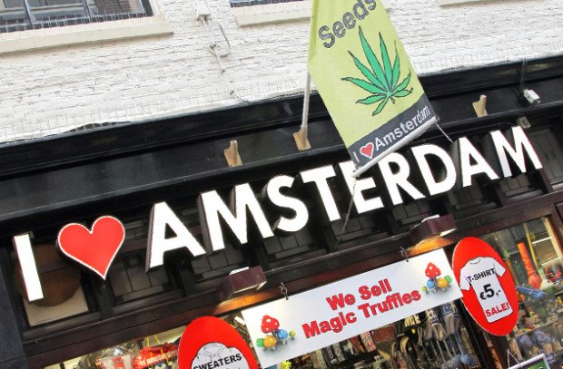 Бар в Амстердаме
