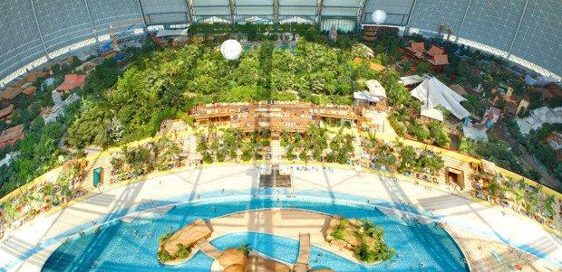 Центр развлечений и аквапарк Aerium