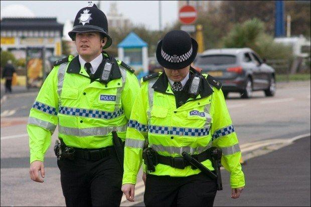 Дорожные патрульные в Британии