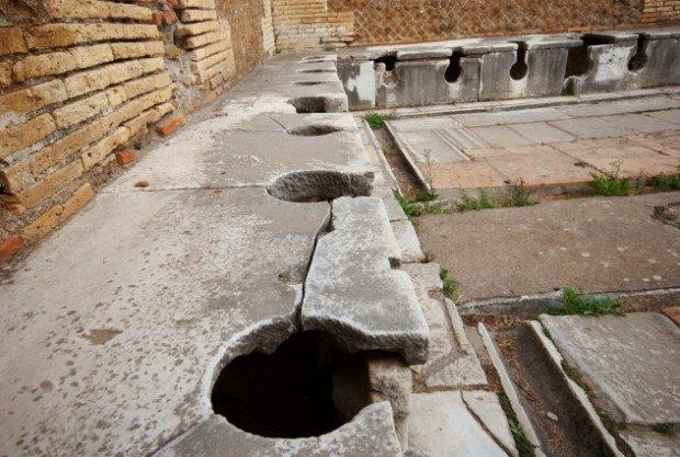 Древнеримские туалеты