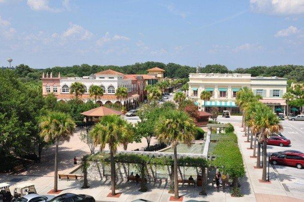Город Villages во Флориде