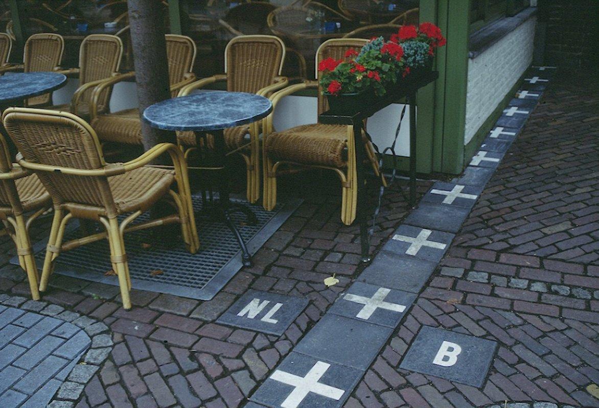 Граница между Нидерландами и Бельгией