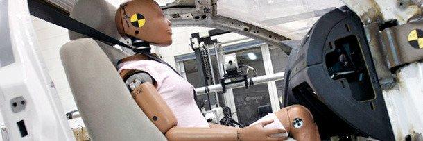 Испытание автоматических ремней безопасности