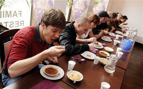 Конкурс по поеданию перца чили