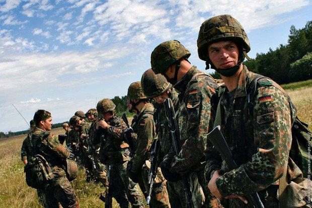 Немецкие военнослужащие
